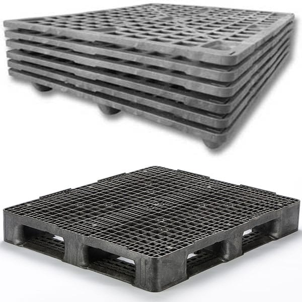 low pressure injection molded pallets
